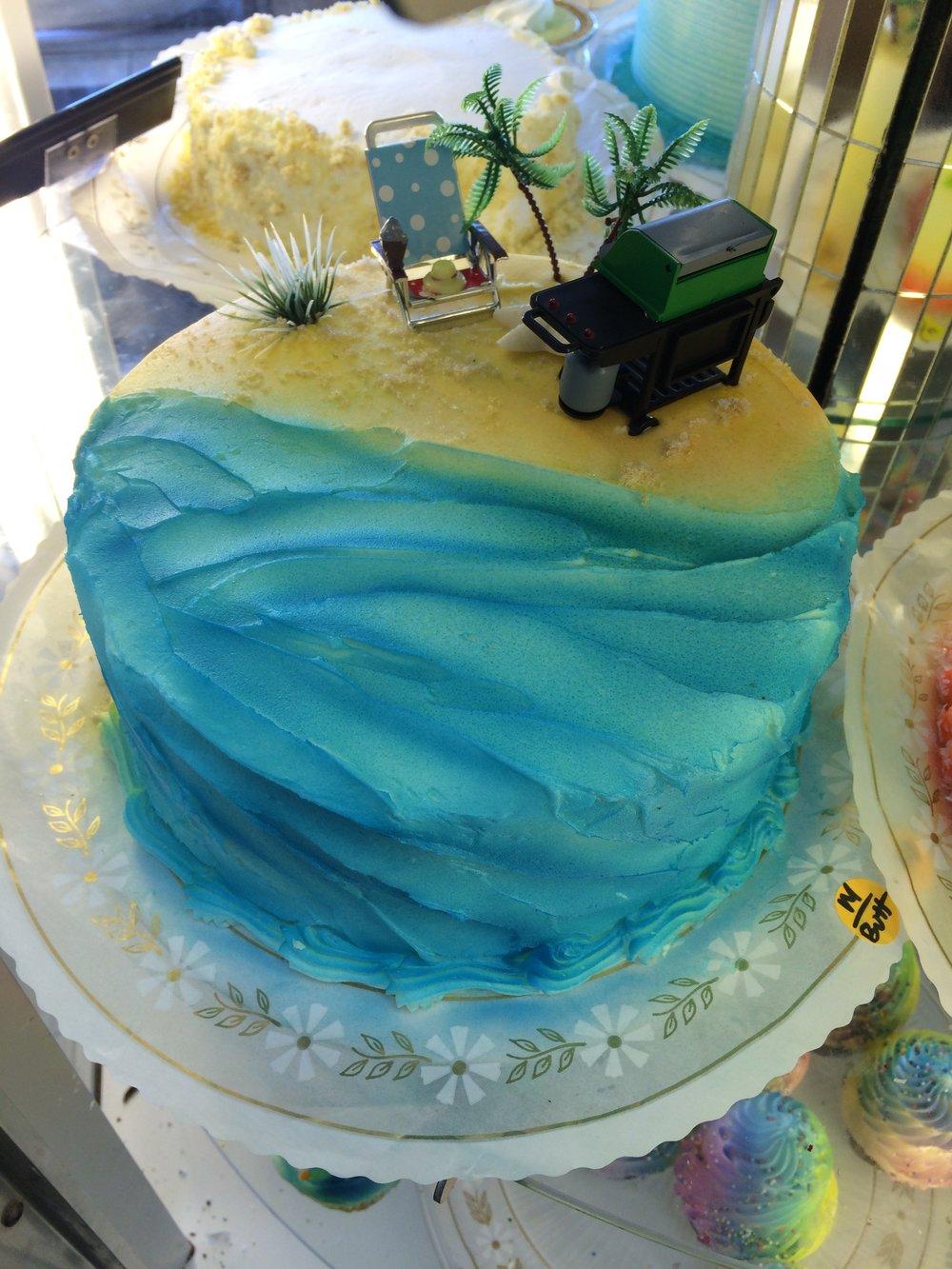 Beach Cakes Vg Donut Amp Bakery