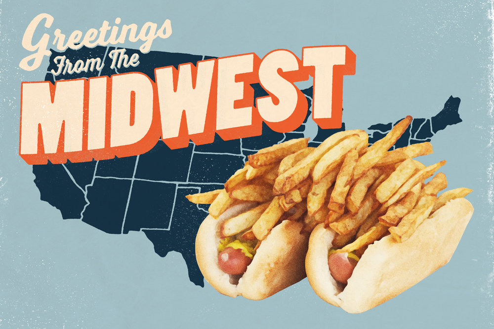 Thrillist article on the 50 most iconic dishes in the Mid-West.
