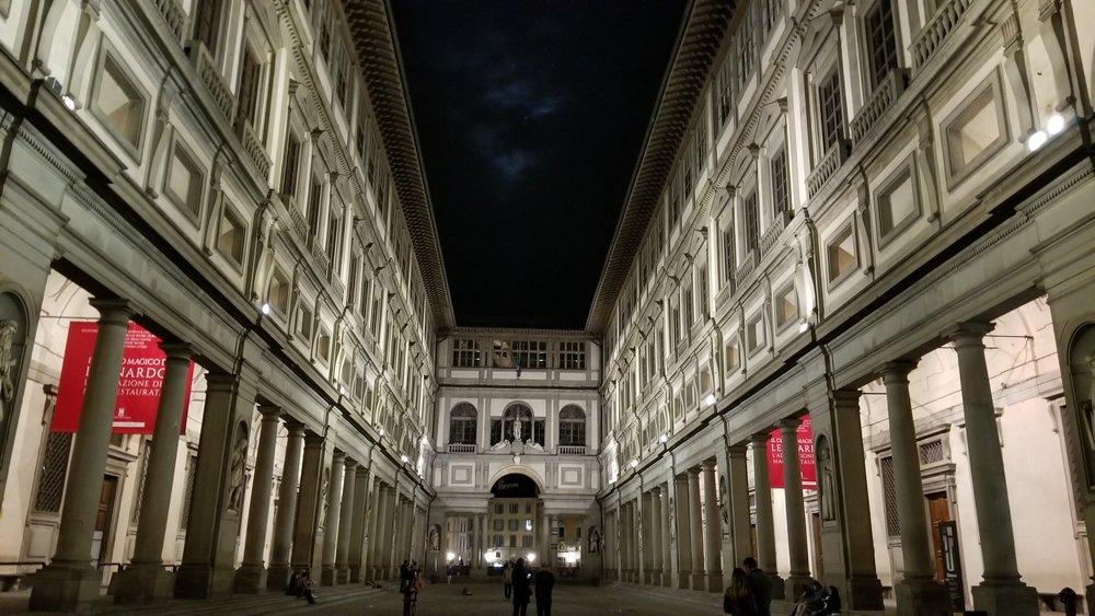 The Uffizi-Florence