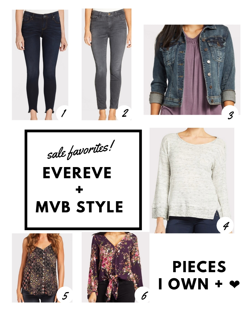 I own, wear, and LOVE these items!