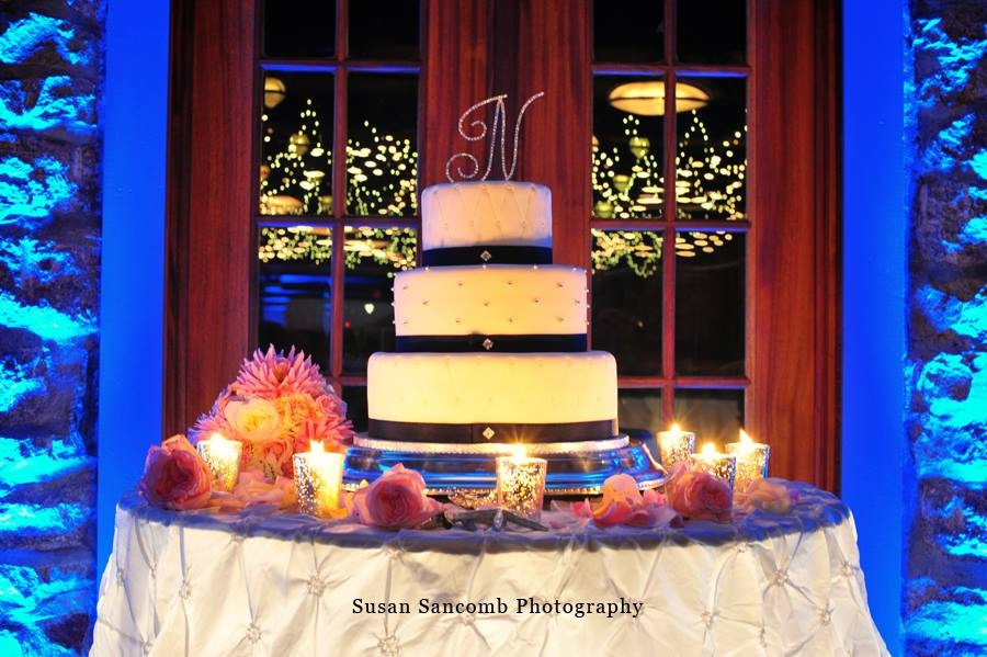 Cake Table Lighting at The Towers