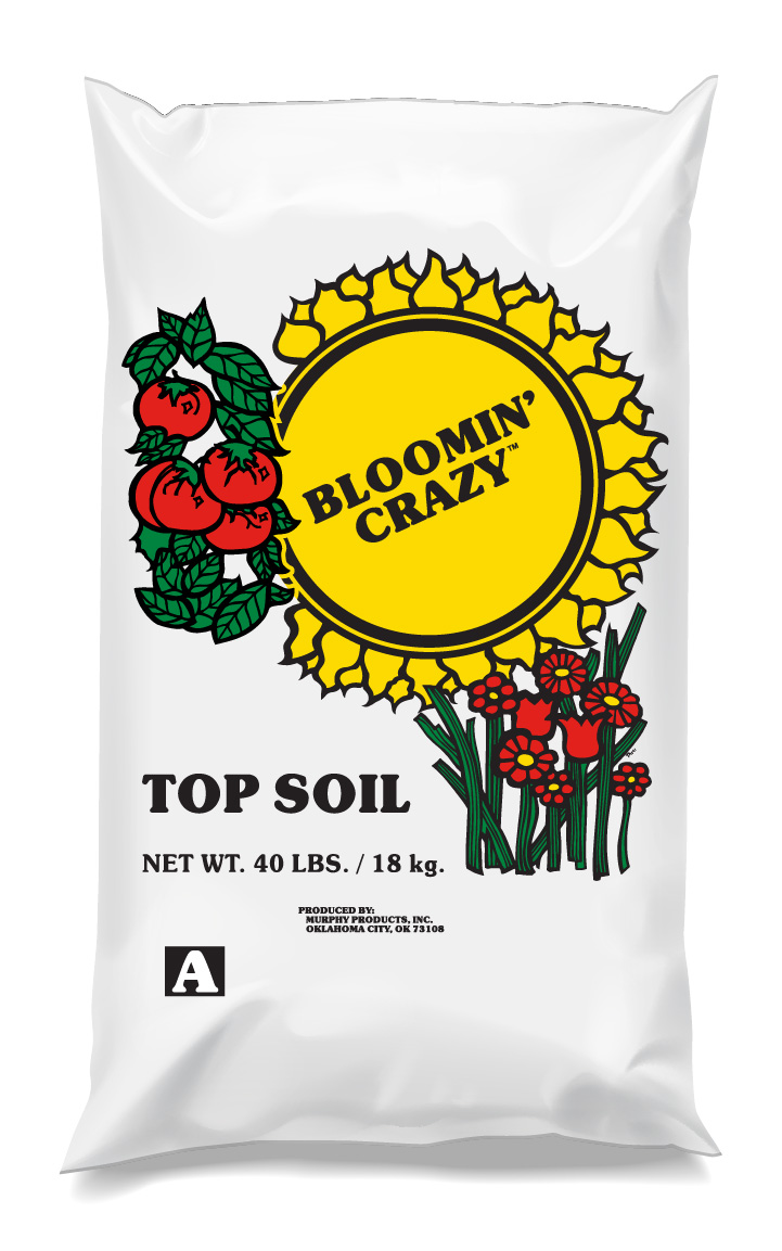Bloomin' Crazy Top Soil - This mineral rich top soil is the perfect foundation for a productive garden, flowerbed, or lawn.