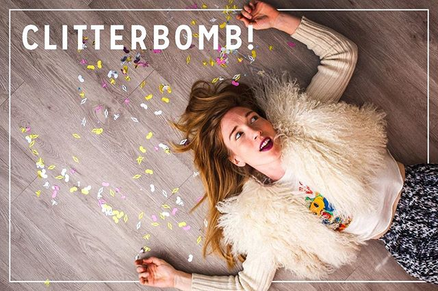 It is the FINAL week to back Clitter! Be one of the first to throw a clitterbomb! (Link in bio)