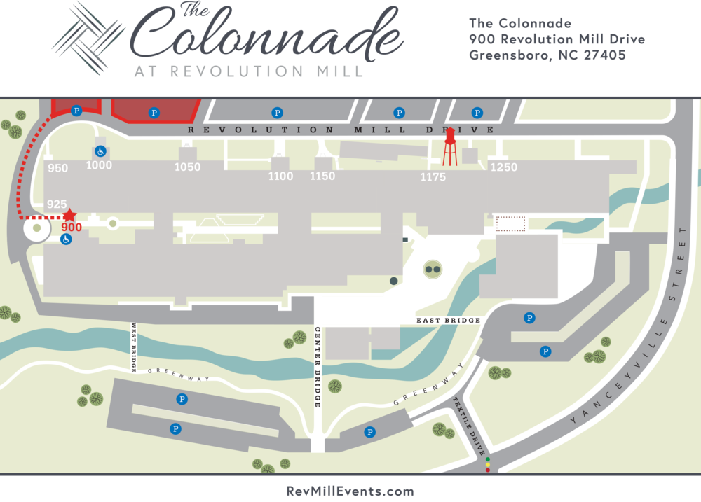 The Colonnade  |  Revolution Mill Events