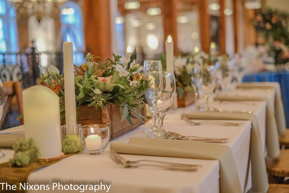 Photo by Nixons Photography, Flowers by Botanica, Rentals by Party Reflections
