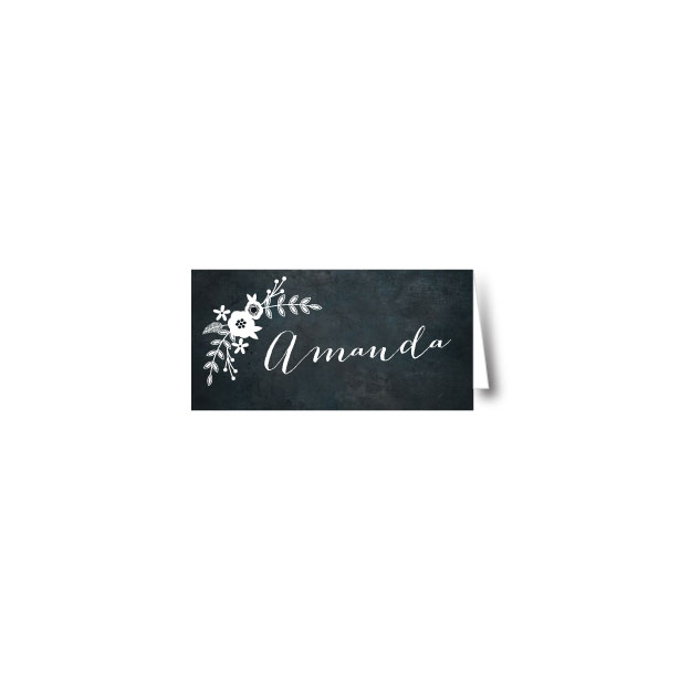 Chalkboard Place Name - 95mm x 45mm