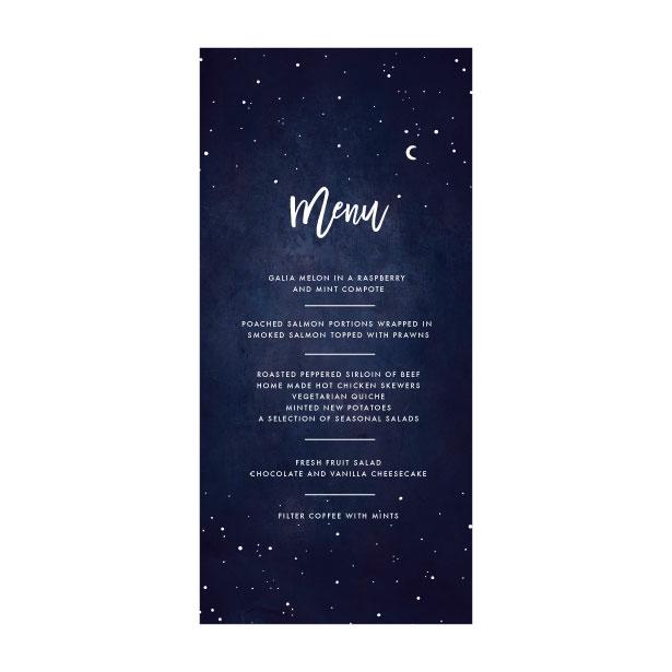 Celestial Star Menu - DL