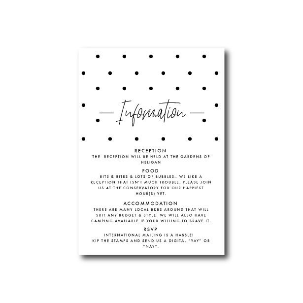 Speckle Wedding Save The Date - A6