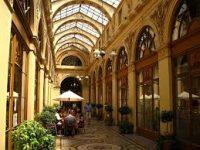 covered market in paris