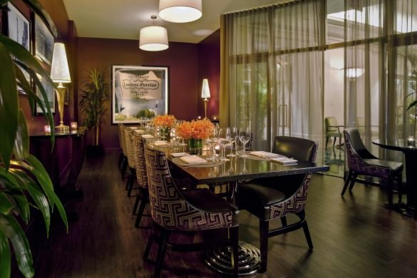 Private Dining Room at Gaby