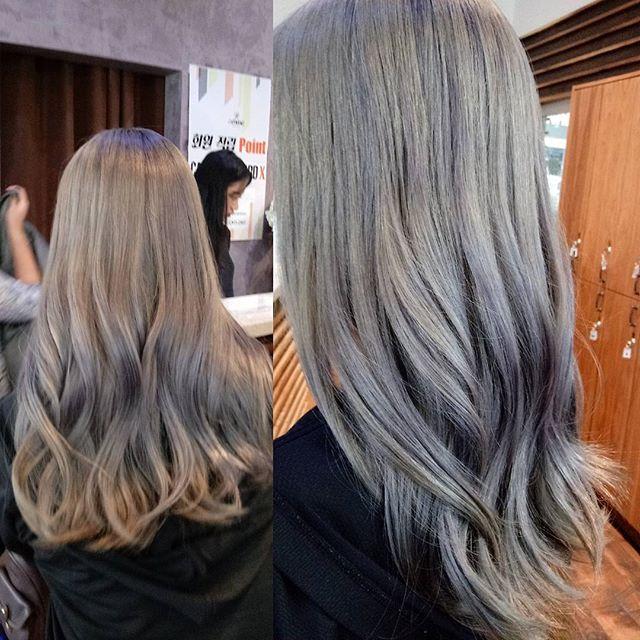 Ombree #grayhair 💛 by Jen