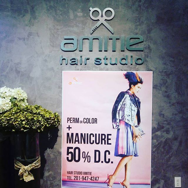 4월의 빅 이벤트!  201 Broad Ave 2fl Palisades Park NJ07650 201.947.4247  #event#perm#아미띠에#amitie#kbeauty#할인행사#웰컴#welcometovisit