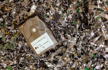 Mobile Hard Drive Shredding   Secure on-site disposal of your old or unused hard drives, laptops, or other media.