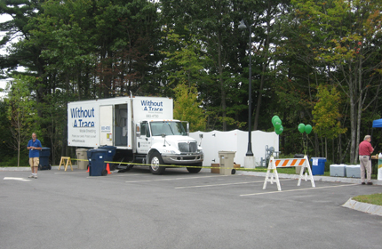 Community Shred Days   Sponsored by local organizations as a service to the community.