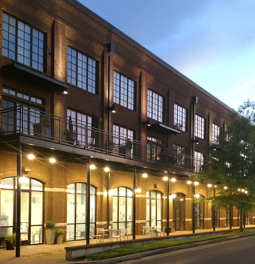 LOCATION - Jamison Station is a residential HOA in downtown Historic Franklin, TN. The red brick design is both classic and reminiscent of the warehouse district. TEU Services was selected for the lighting upgrade based on the ability to combine energy reduction with competitive pricing while creating the desired ambiance that had been lost during the traditional lighting maintenance cycle over the past years.