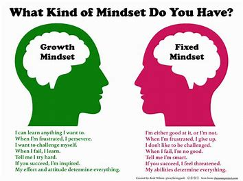 Which Mindset do you currently have?  Which would mindset might make you more successful as a change agent?
