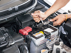 Oil change and tune-up in San Diego