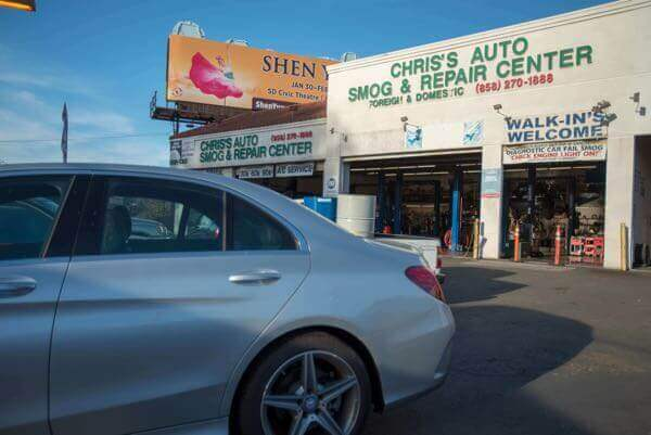 Vehicle Scheduled Maintenance in San Diego
