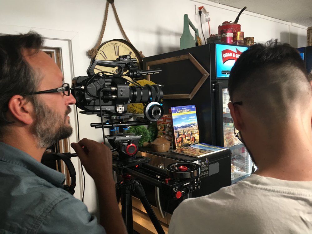 WE'RE INNOVATORS AND EXPLORERS IN THE VIDEO PRODUCTION INDUSTRY  - Behind the scenes, McSweeney's Commercial Shoot