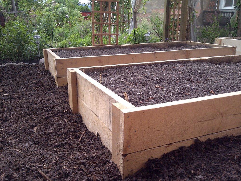 Raised Garden Bed Installation