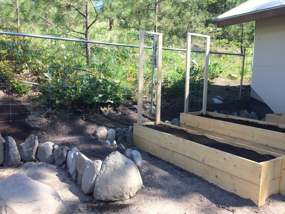 Edible Garden Construction
