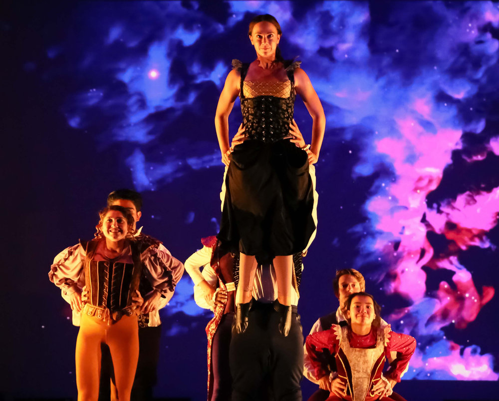 Mad Madge - Projection and Scenic Design