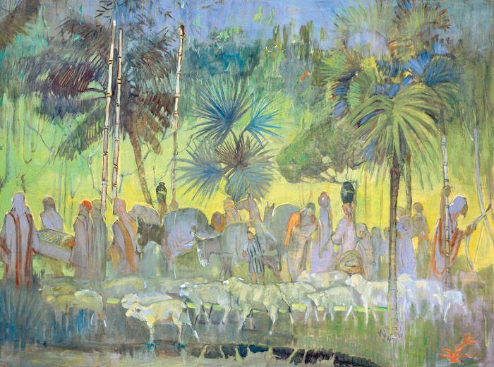 Nephite Sheep Minerva Teichert Art