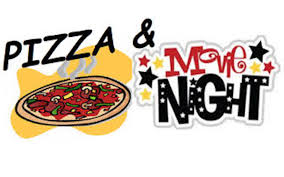 Image result for pizza and a movie
