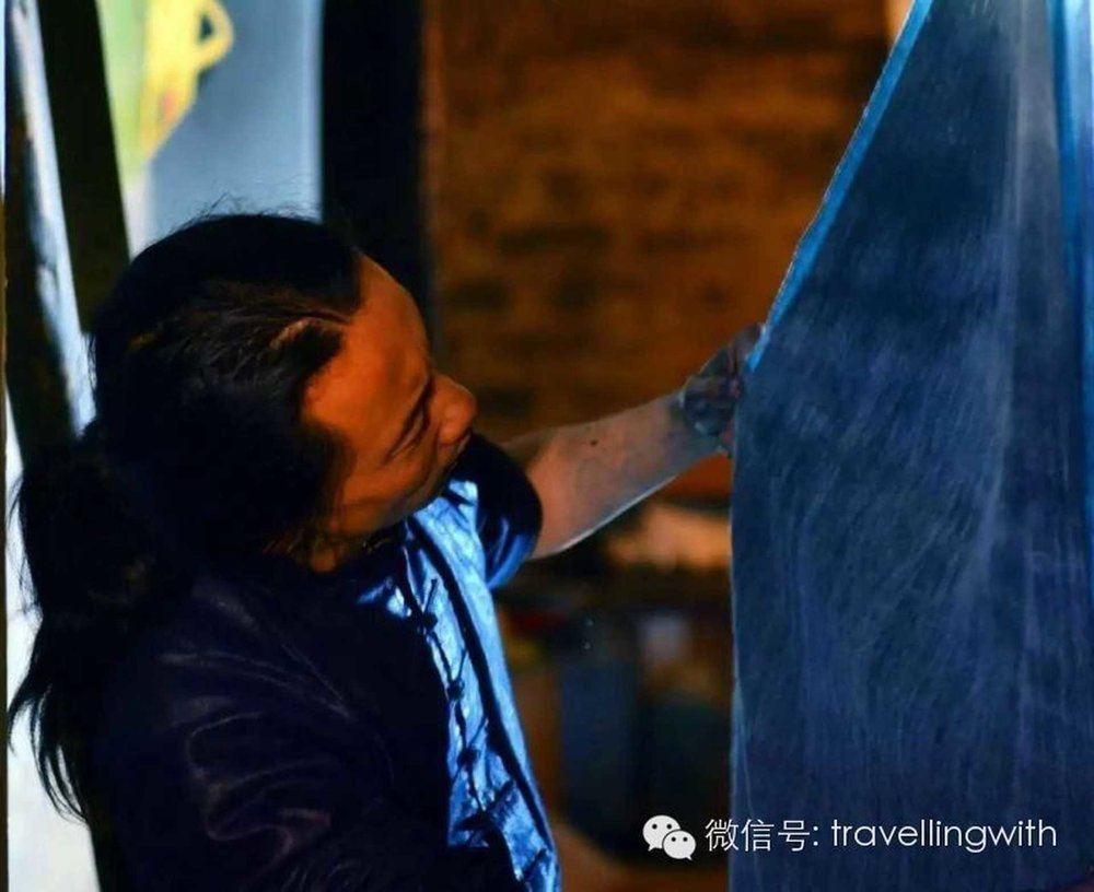 寒山:画家、民艺人   道路就是生活