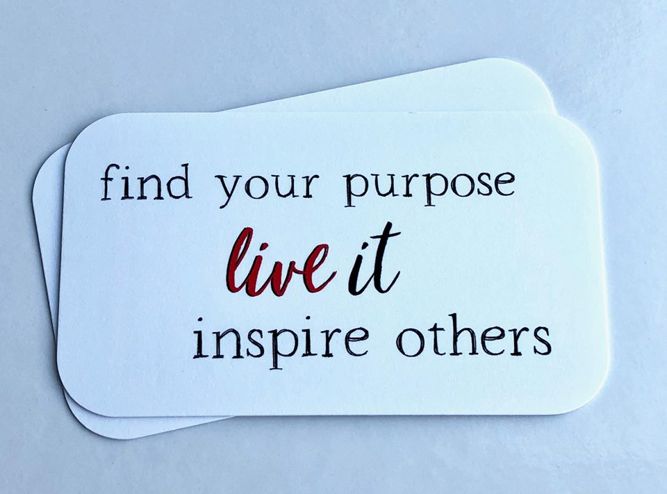 Find Your Purpose Inspirational Notes