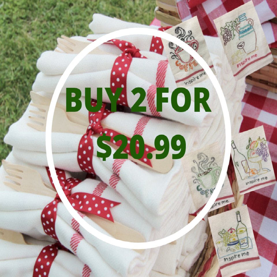 2 Kitchen Towels Special Deal
