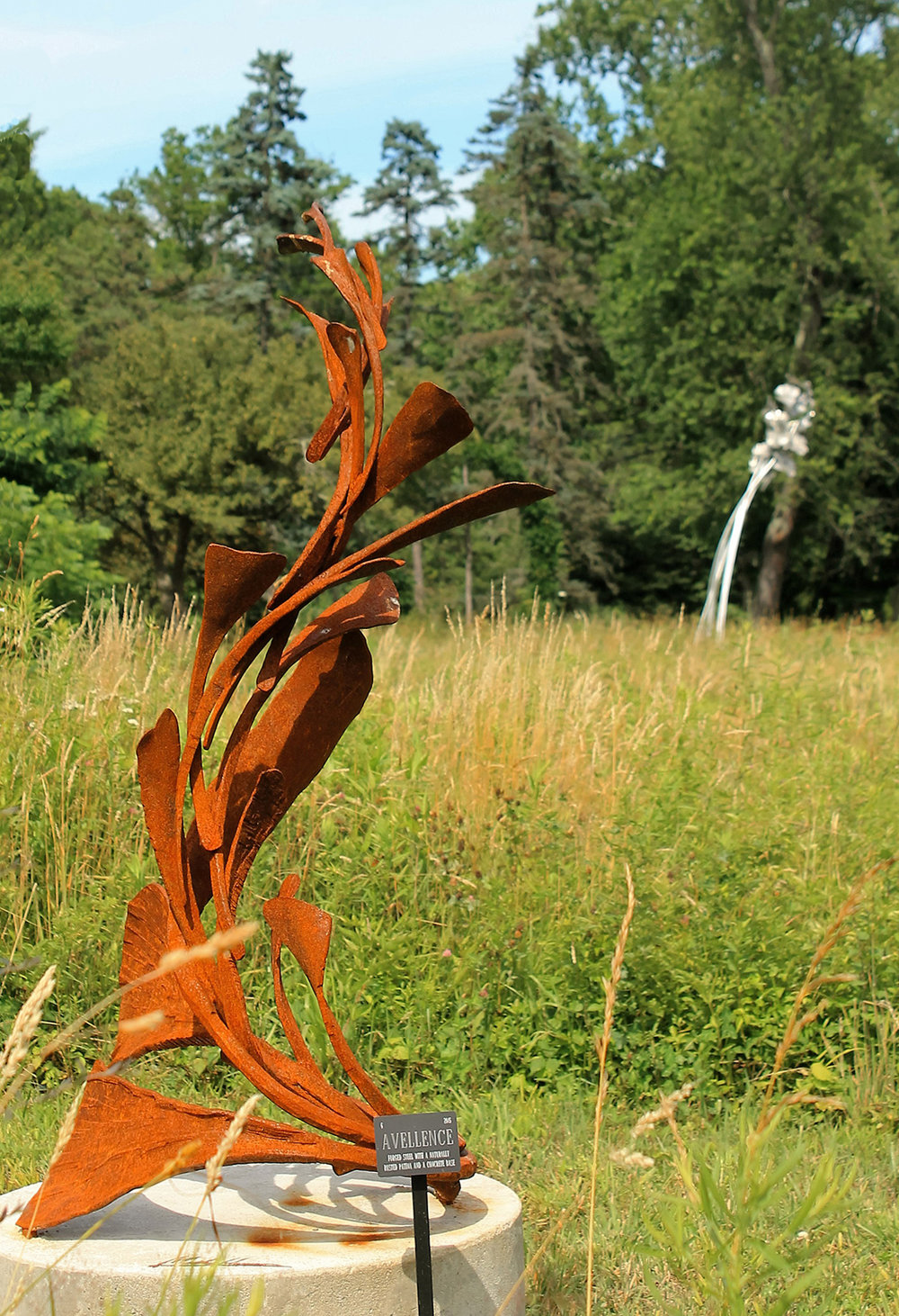 Forged Metal Sculpture Matthew Harris.jpg