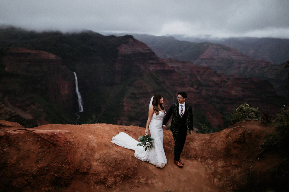 Wes & Jen | Kauai, HI - Thank you so very much for sending over the pictures! We love them so much!! Everyone raves about your skills and we just feel so lucky to have had you as our photographer on our special day. We can't wait to print these in a book!- Jen & Wes