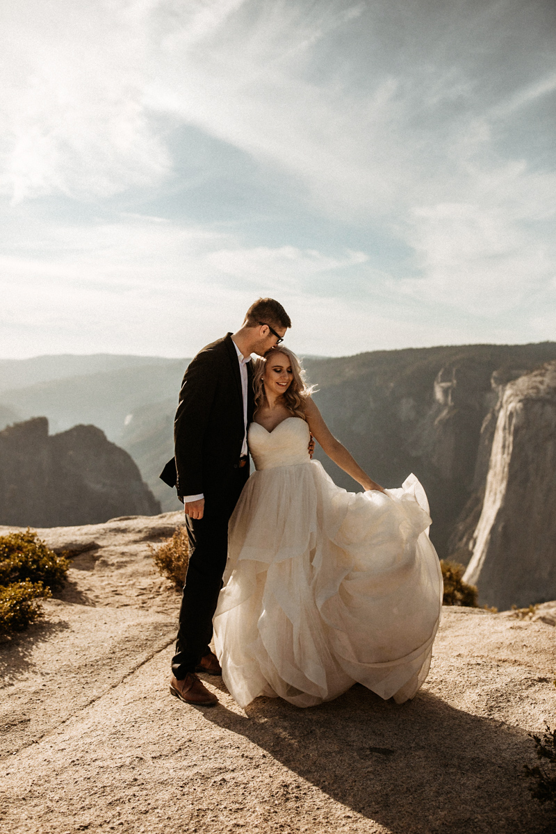 Audra & Brett | Yosemite NP - I just finished looking at all the photos & I love them so much, I'm sitting here trying not to cry 😩 Thank you so much for capturing our day! They're soooo beautiful! I can't wait to share them! I can't say thank you enough ❤️ You captured the day perfectly!! ❤️ Thank you so much, we're obsessed with them!
