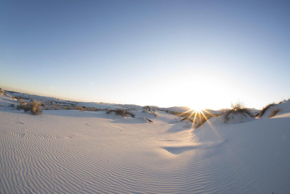 WHITE SANDS -