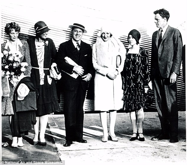 THIS DAY IN STEM HISTORY - To the left you'll see Amelia Earhart who on May 21, 1932 landed in Ireland to become the first woman to have flown solo across the Atlantic. Ironically, 3 years prior on May 21, 1929, Aviator Charles Lindbergh (on the far right) was the first man to do so, landing in Paris, France.(photo courtesy of National Air & Space Museum)