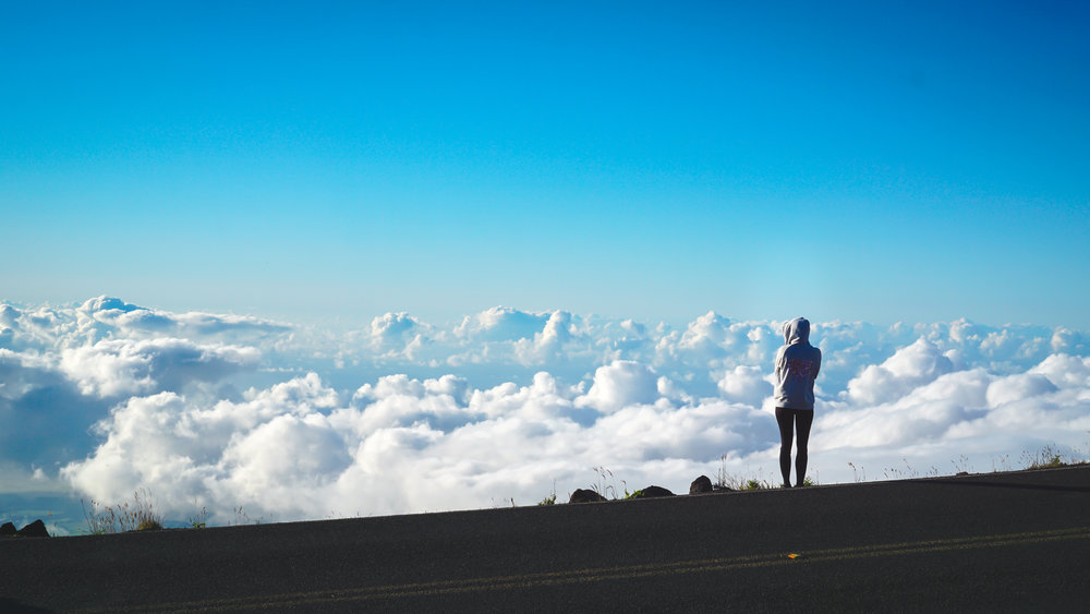 Maui's Haleakala Volcano: Elevation 10,000ft !!