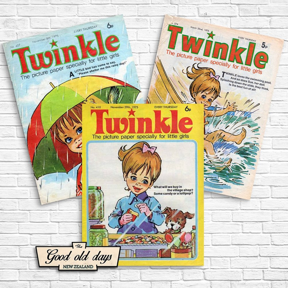 Twinkle girls paper