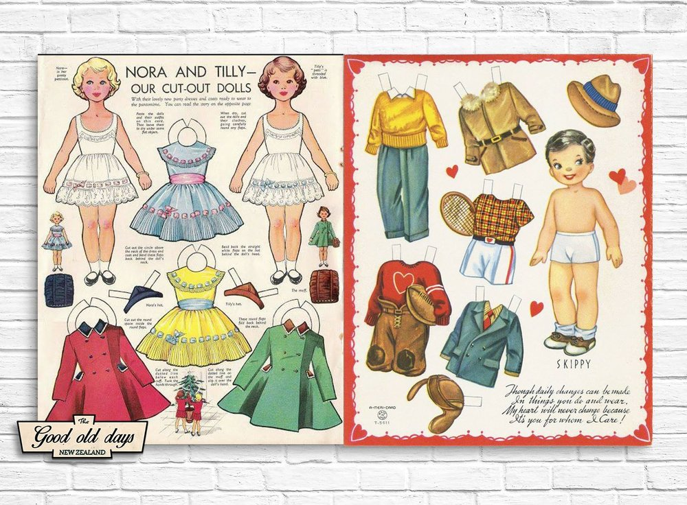 Cut-out Dolls