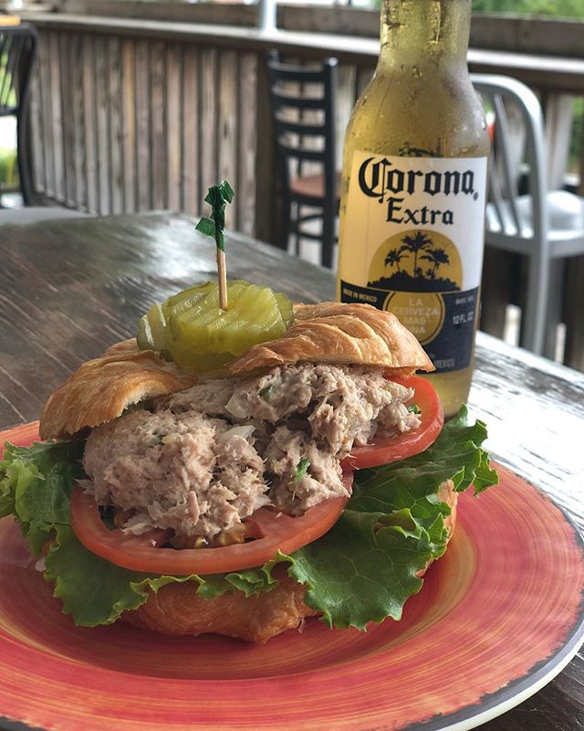 James's famous tuna salad on special today! Enjoy it on a choice of your favorite bread, or on top of a bed of fresh greens!