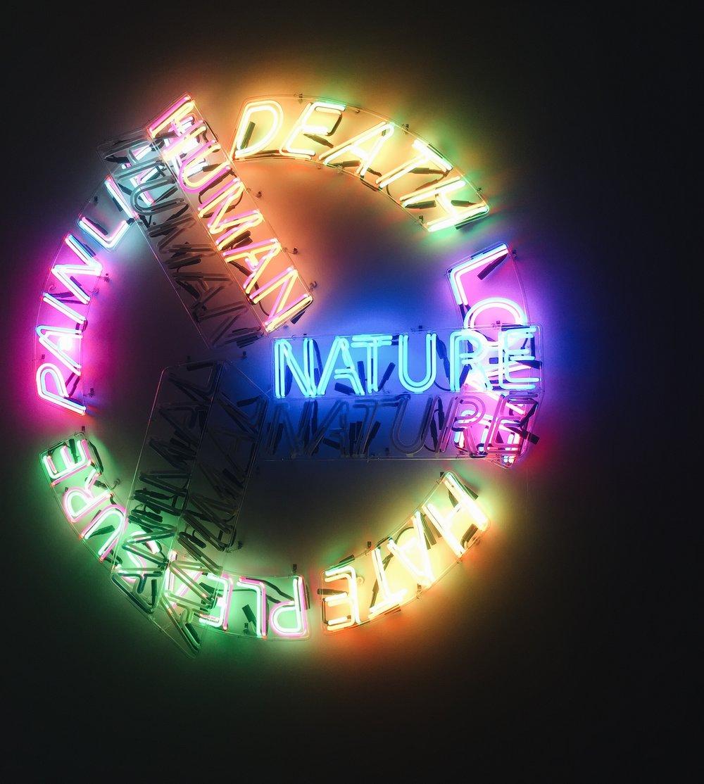 Bruce Nauman,  Human Nature/Life Death