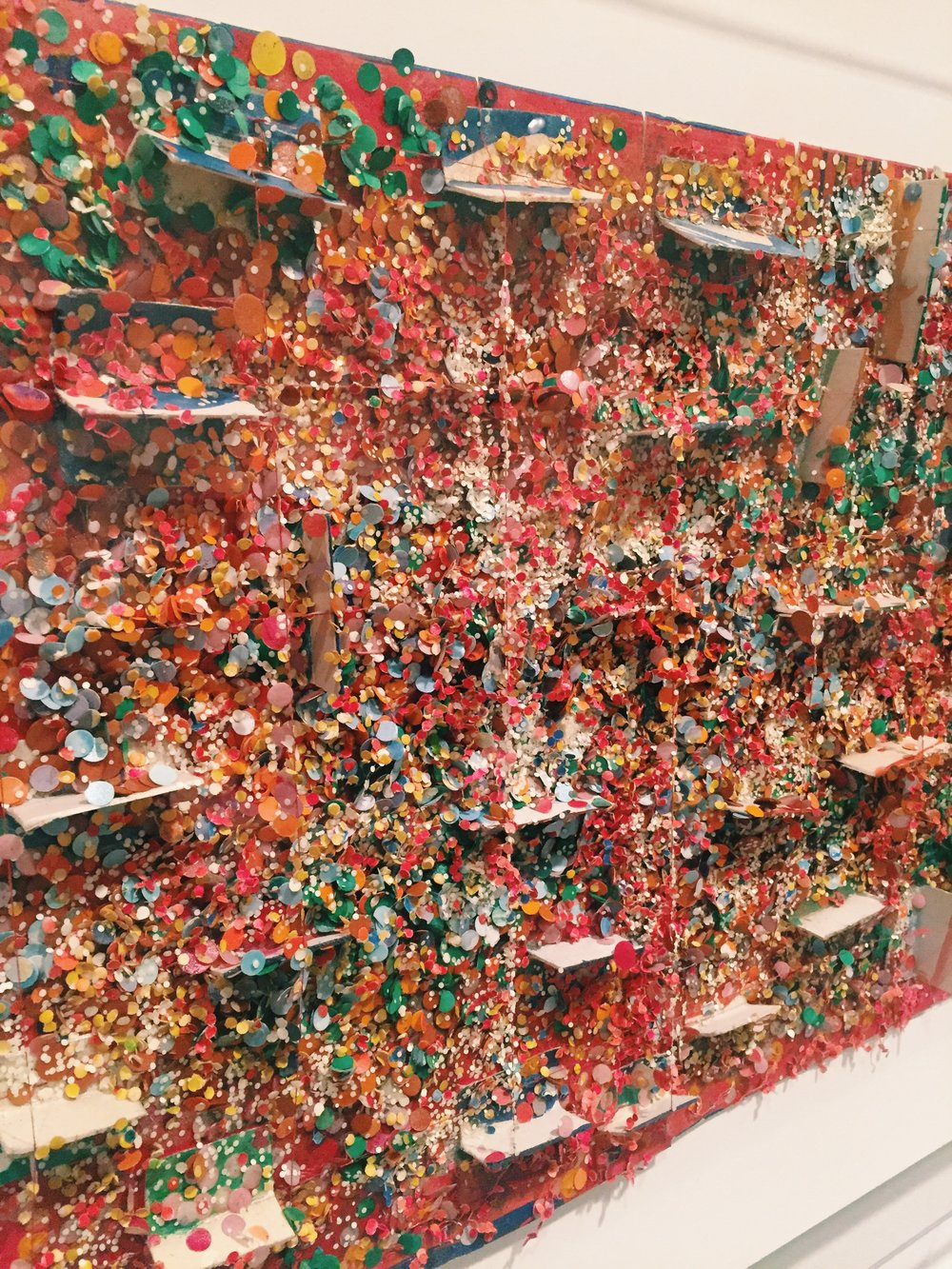 Howardena Pindell,  Untitled #87b