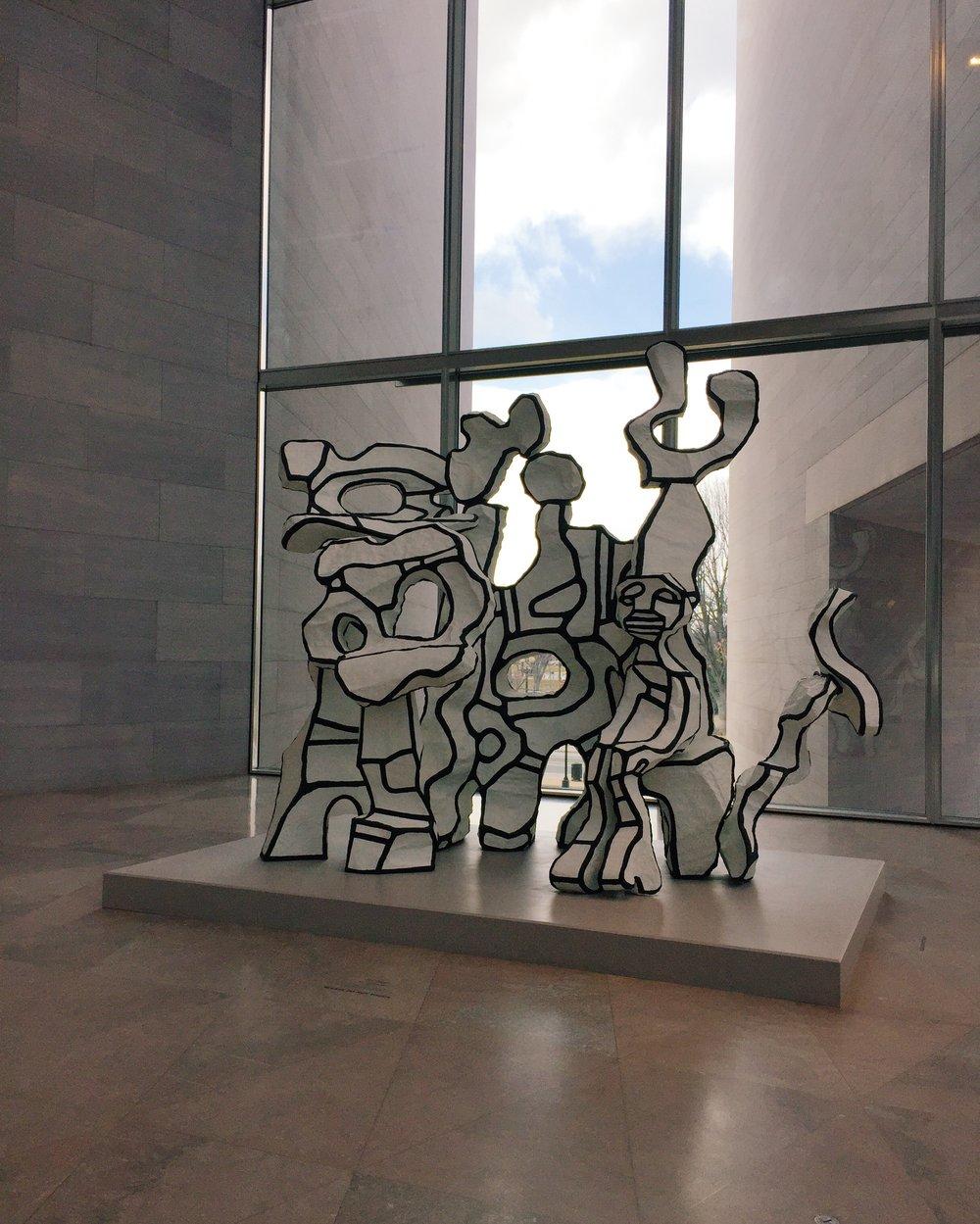 Jean Dubuffet, Site à l'homme assis