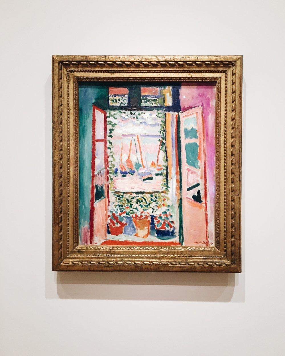 Henri Matisse, Open Window, Collioure