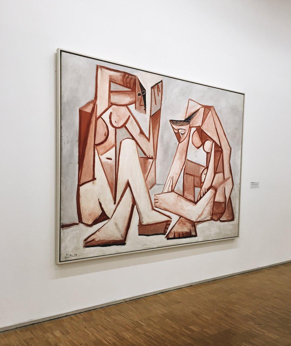 Pablo Picasso,  Femmes devant la mer, 16 février 1956