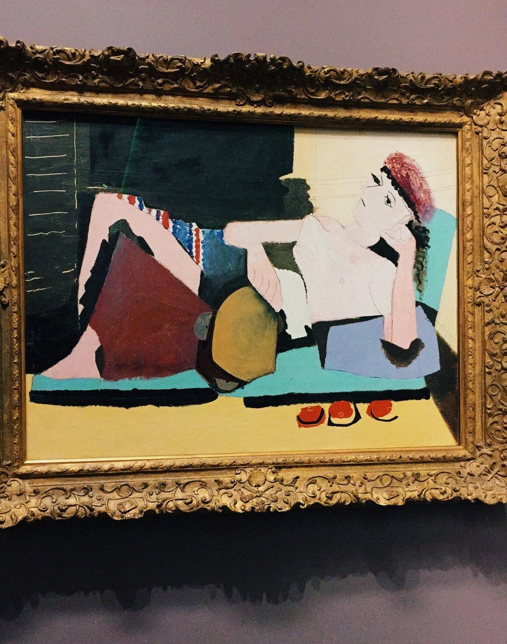 Pablo Picasso,  Femme au tambourin