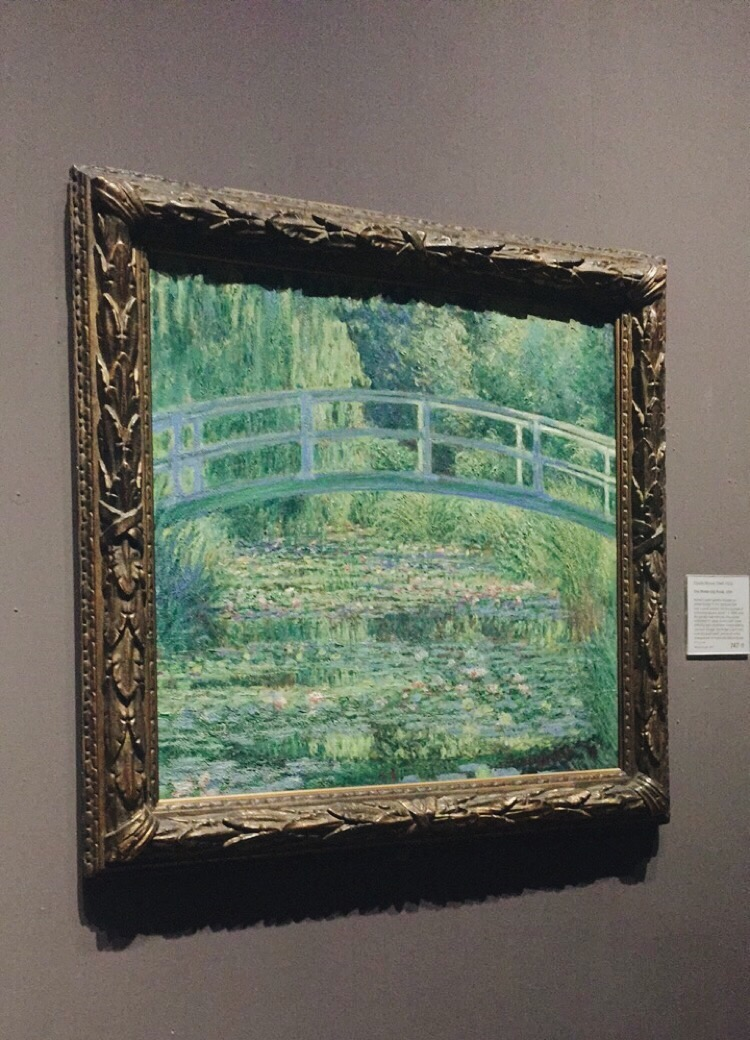 Claude Monet,  The Water-Lily Pond