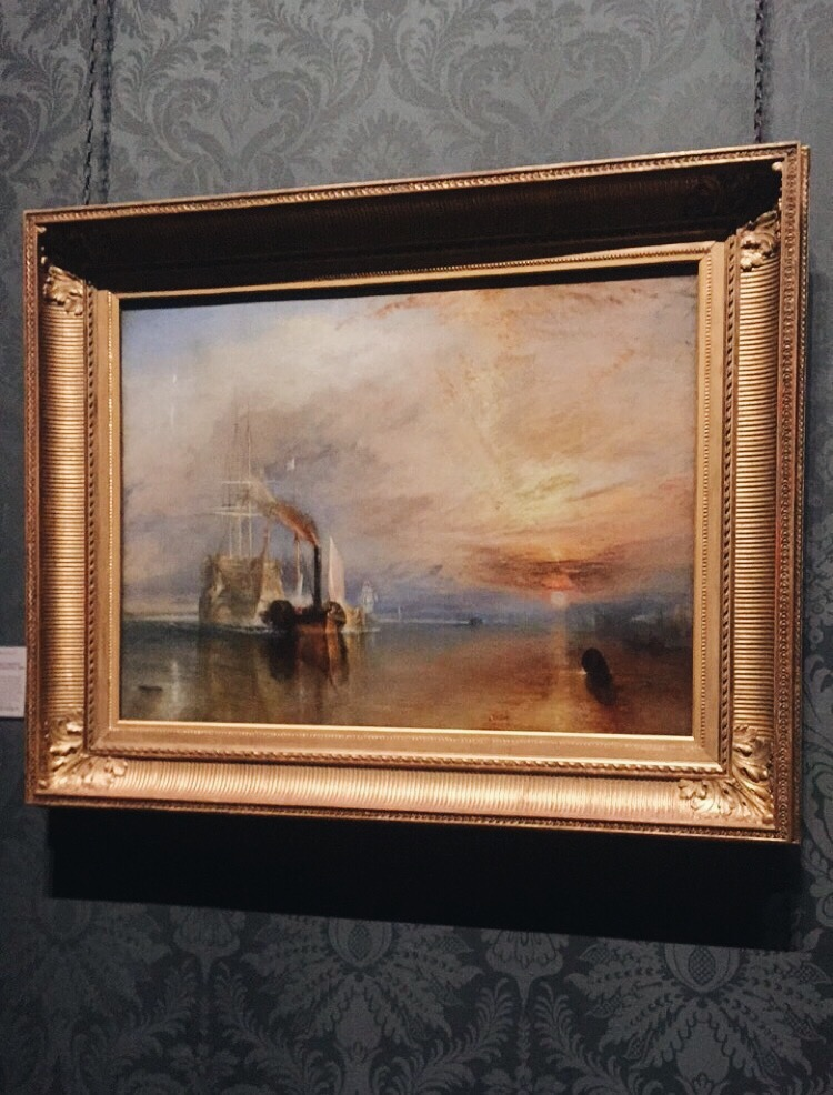 Joseph Mallard William Turner,  The Fighting Temeraire