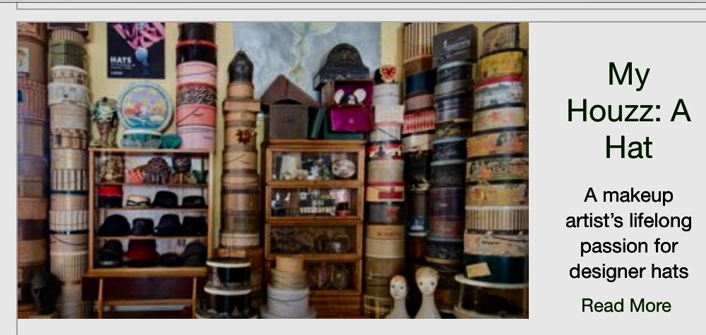 Wendy Ann's House of Hats on Houzz