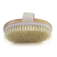 Dry skin body brush